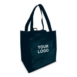 Reusable Shopping Bags (100 Per Case) Black Recyclable & Reusable ...
