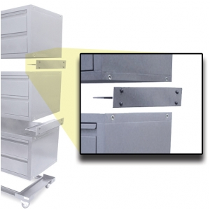 Ultimate Mobile Storage Drawer Quick Mounting Brackets (Grey)