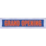 Multi-Color 3 X 20 Grand Opening Banner