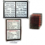 Horizontal Changeable Letter Boards