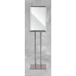"Chrome Standing Sign Holder (14""X22"")"