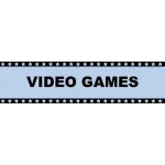 ***Blowout*** Marquee Sign Video Games
