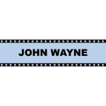 **Blowout**Marquee Sign John Wayne