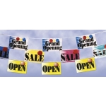 Open - Mini Banner Pennants