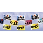 Grand Opening - Mini Banner Pennants