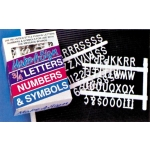 "1/2"" Extra Letters(Sign Board)144Pcs"