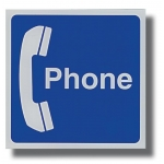 Area Sign- Telephone Sign