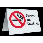 Table Tent Sign-No Smoking
