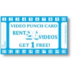 20 Punch Video Card (Stock-500Pcs)