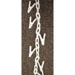 (White) Clip Chain Merchandiser