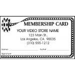 Membership Cards(Film Reel) 1000Pcs