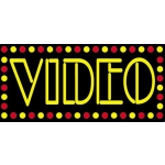 Neo- Video ( Red / Yellow Border)