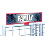 ***Closeout*** (Family) Film Reel Decor Sign
