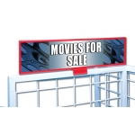 ****Closeout*** (Movies For Sale) Film Reel Decor Sign