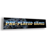 ***Closeout*** (Pre-Played Games) Video Game Decor Sign