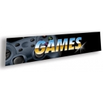 ***Closeout*** (Games) Video Game Decor Sign