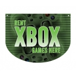 ***Closeout*** (Xbox) Hanging Video Game Area Sign