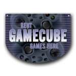 ***Closeout*** (Gamecube) Hanging Video Game Area Sign