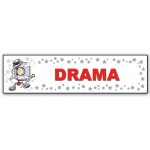 ***Closeout*** (Drama) Character Decor Sign