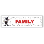 ***Closeout*** (Family) Character Decor Sign