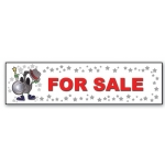 ***Closeout*** (For Sale) Character Decor Sign