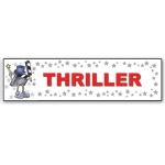 ***Closeout*** (Thriller) Character Decor Sign