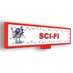 ***Closeout*** (Sci-Fi) Character Decor Sign