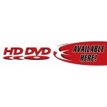 "Hd Dvd - Two Color Category Sign (5 1/2"" X 22"")"