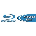 "Blu-Ray Disc - Two Color Category Sign (5 1/2"" X 22"")"