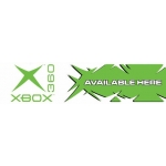 "X Box 360 - Two Color Category Sign (5 1/2"" X 22"")"