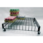 Dump Bins (Black)  Mobile Grid Rack/Riser