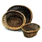 Willow Baskets (Small Size) Oval Willow Basket