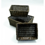 Willow Baskets (Small Size) Rectangular Willow Basket