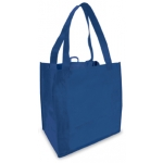 Reusable Shopping Bag (100 Per Case) Blue Recyclable & Reusable Shopping Bags