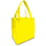 Reusable Shopping Bag (100 Per Case) Yellow Recyclable & Reusable Shopping Bags