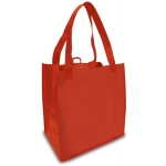 Reusable Shopping Bags (100 Per Case) Red Recyclable & Reusable Shopping Bags