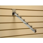(Chrm) Slatwall Apparel Display Hook 12""