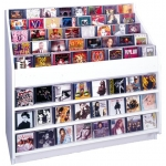 """Hq"" Jewel Box Cd Browser (White)"