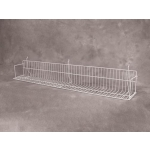 "(Red) Slatwall-18"" Standard Shelf"