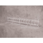 "***Blowout*** (Red) Slatwall-24"" Angled Shelf"