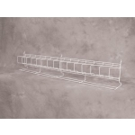 "(Black) Slatwall-24"" Angled Shelf"