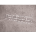 "(Black) Slatwall-48"" Angled Shelf"