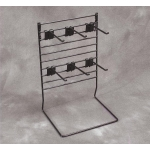 Multi Rack W/ 6 Hooks (Black)