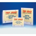 "11"" W X 8 1/2"" H Top Load Sign Holder"