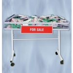 (White) Folding Mobile Dump Table
