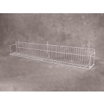 "(White) Slatwall - 48"" Standard Shelf"