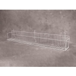"(White) Slatwall-24"" Standard Shelf"