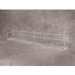 "(White) Slatwall-18"" Standard Shelf"