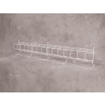 "(White) Slatwall- 48"" Angled Shelf"