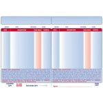 Video Retailer-Receipts 1Prt (2500 Pcs)